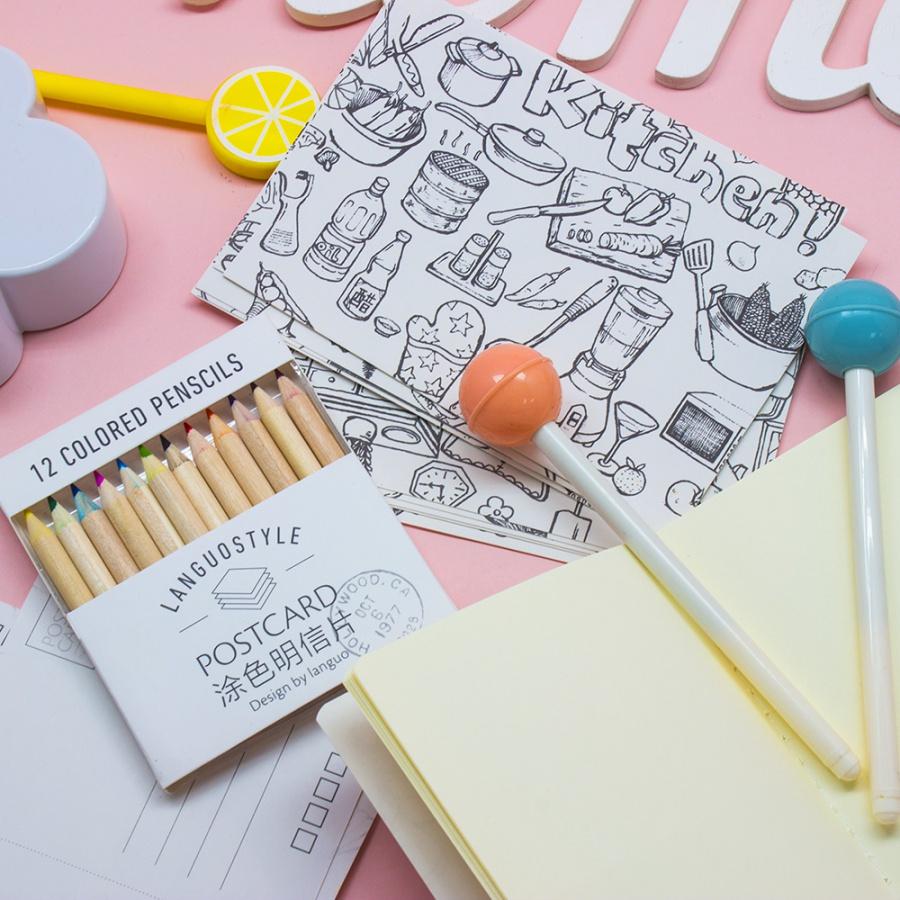 набор раскраски антистресс Simple купить набор раскраски
