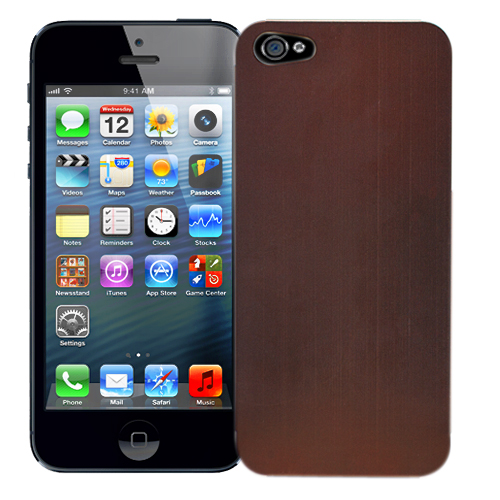 "фотография Чехол для iPhone 5 ""Bronze"", серия ""Metal Texture"" Kawaii"