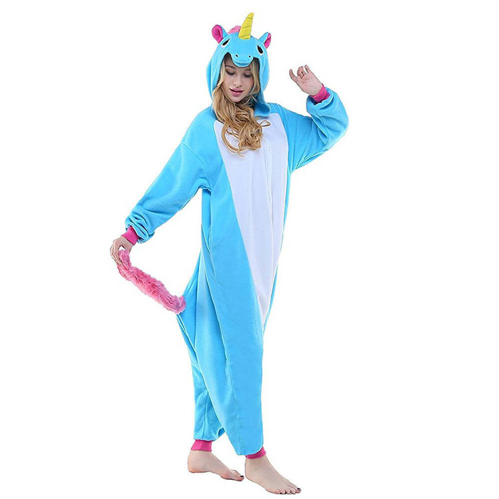 Пижама Кигуруми Единорог Голубой - купить пижама Кигуруми Единорог ... bf1786ce27bdb