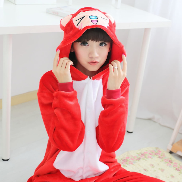 Детская Пижама Кигуруми Кот - купить детская Пижама Кигуруми Кот в ... 1d08501373ec7