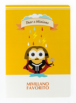 Скетчбук Mivillano favorito (Thormin)