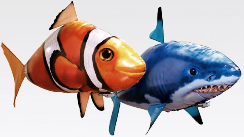 Инструкция к летающей рыбы