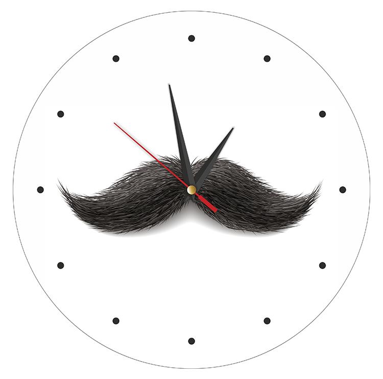 """настенные часы """"Усы"""""""