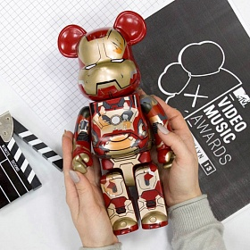 Bearbrick Iron Man
