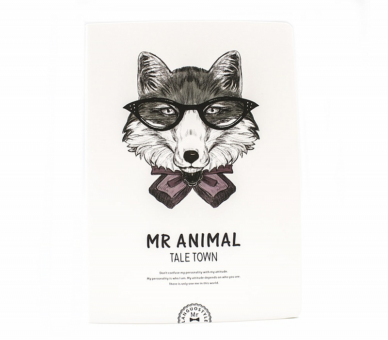 Скетчбук Mr. Animal (Fox)
